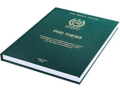 PhD thesis hard bindings
